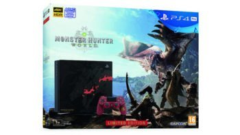 Limited Edition Monster Hunter: World PS4 Pro Launching in North America and Europe