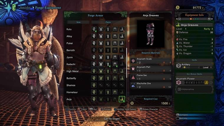 How To Forge And Upgrade Equipment in Monster Hunter: World ...
