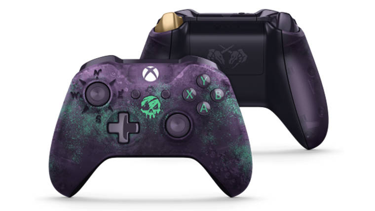 Glowing Sea of Thieves Controller Releases a Month Before Game