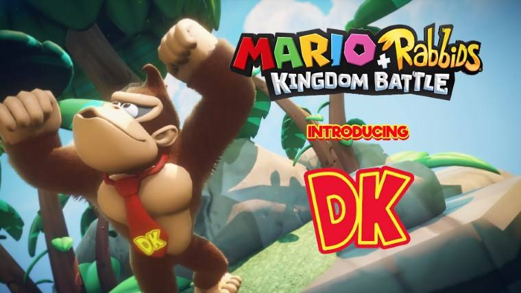 Donkey Kong Barreling His Way Into Mario + Rabbids Kingdom Battle DLC