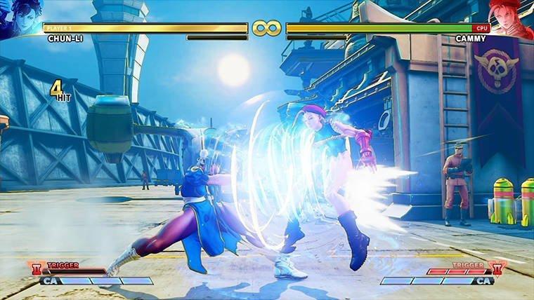 street fighter v arcade edition v trigger 2
