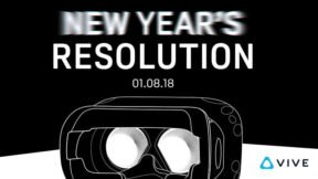 HTC VIVE Teasing Higher Resolution Headset For Reveal on January 8th
