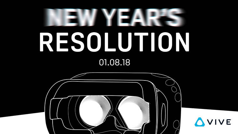 CES 2018: HTC Hints at New Vive Announcement Next Week