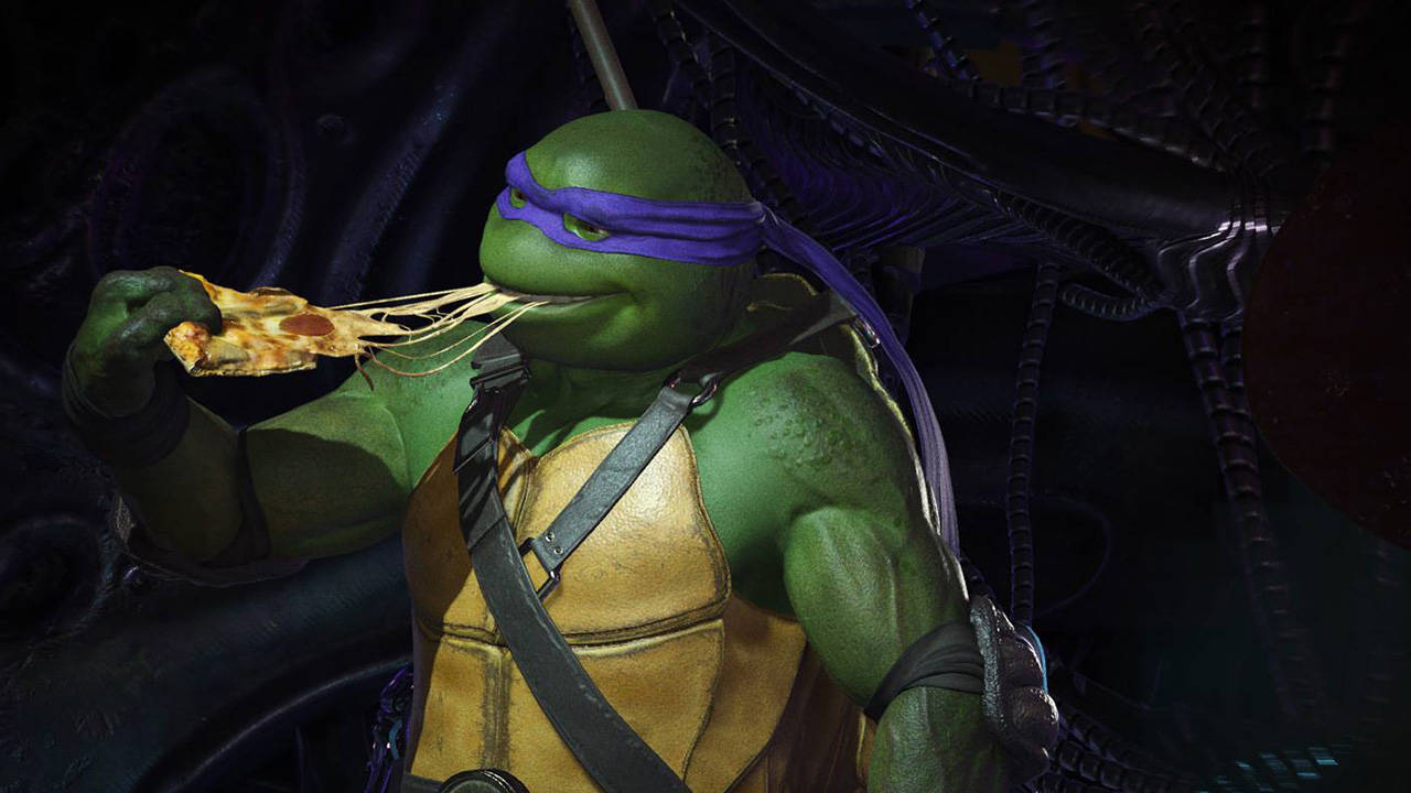 Injustice 2 DLC characters Teenage Mutant Ninja Turtles trailer