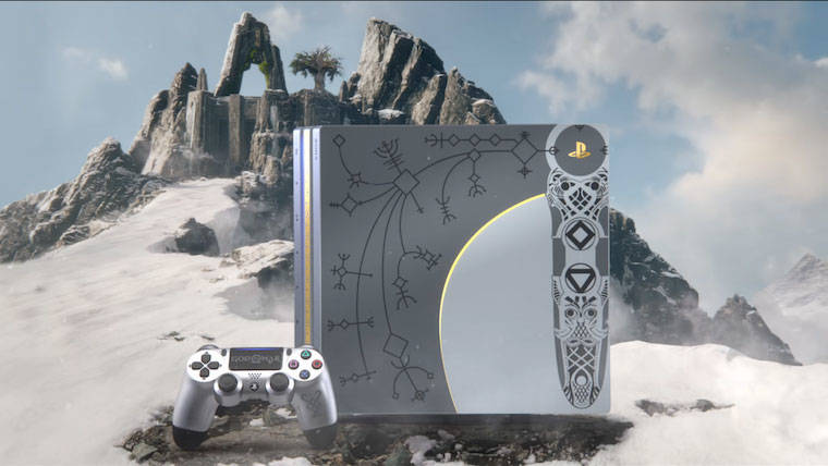 Sony unveils God of War limited edition custom PlayStation 4 Pro