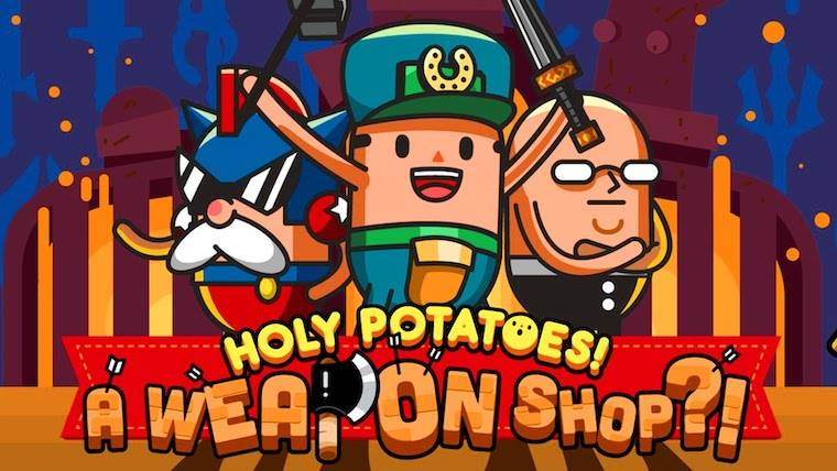 Rising Star Games playstation Nintendo Indie Holy Potatoes! What the Hell?! Holy Potatoes! We're in Space?! Holy Potatoes! A Weapon Shop?! Daylight Studios