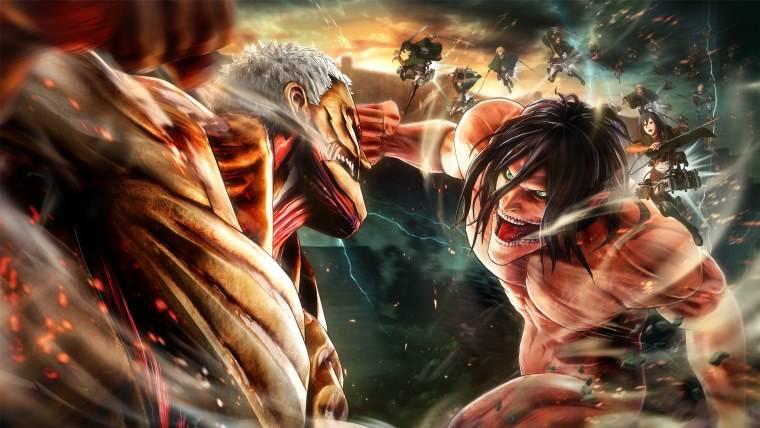 PS4 Attack on Titan 2 Attack On Titan