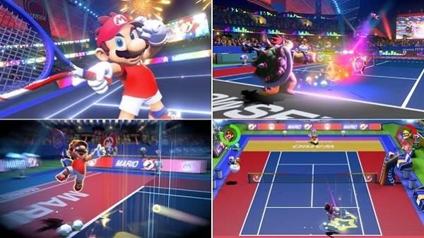 Nintendo Direct Nintendo Mario Tennis Aces Mario Tennis Mario