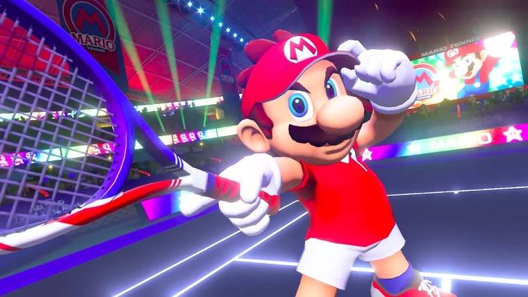 Here's a new look at Mario Tennis Aces out on June 22