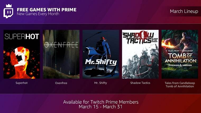 Twitch Prime Twitch PC GAMES