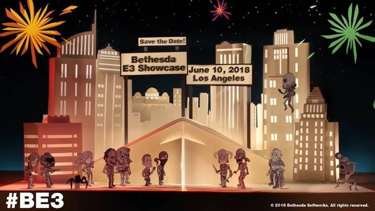 Bethesda sets a date for its E3 2018 press conference