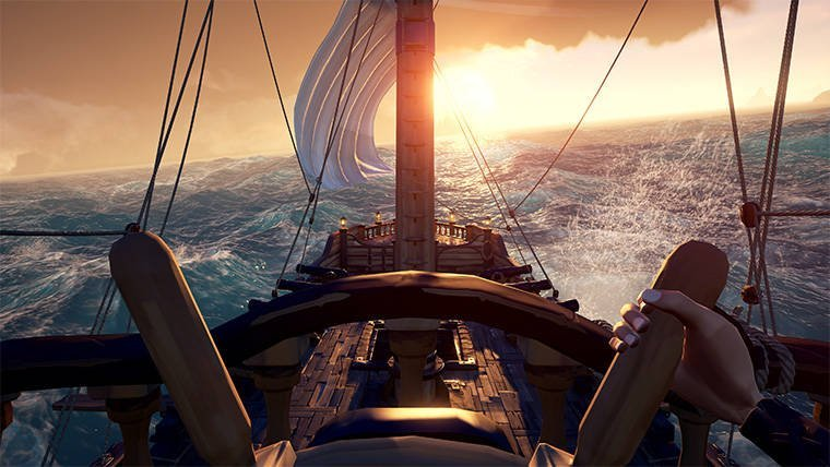 Sea Of Thieves Gets A Massive 18GB Update
