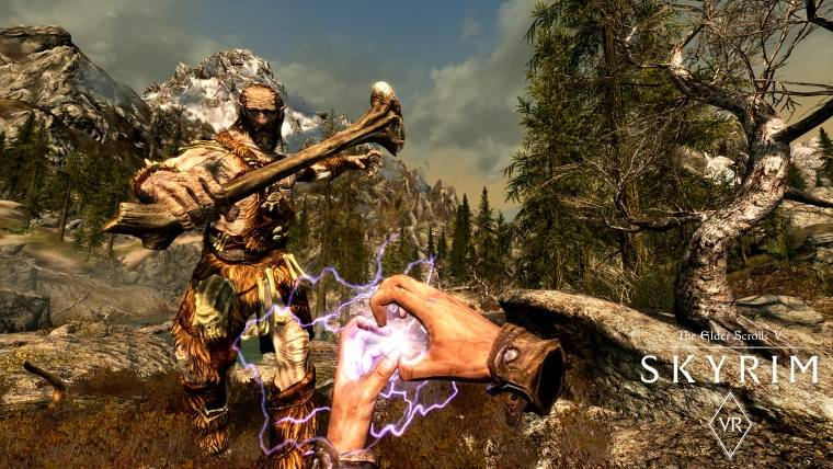 Skyrim VR is launching on Steam in April