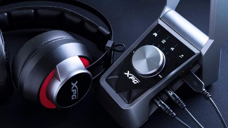 xpg emix mixer and headset