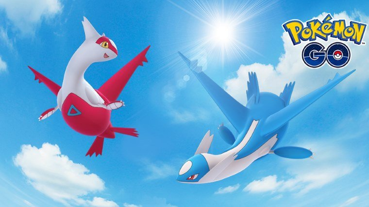 Pokemon Go: Legendary Pokemon Latios and Latias Available Starting Today