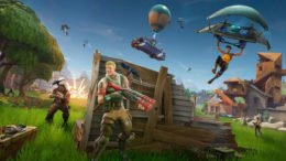 Fortnite Battle Royale Hiding Behind Cover