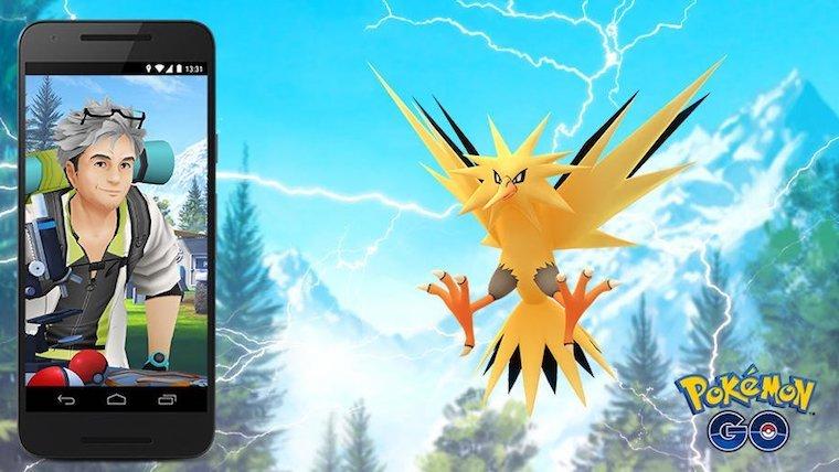 Pokémon Go Zapdos
