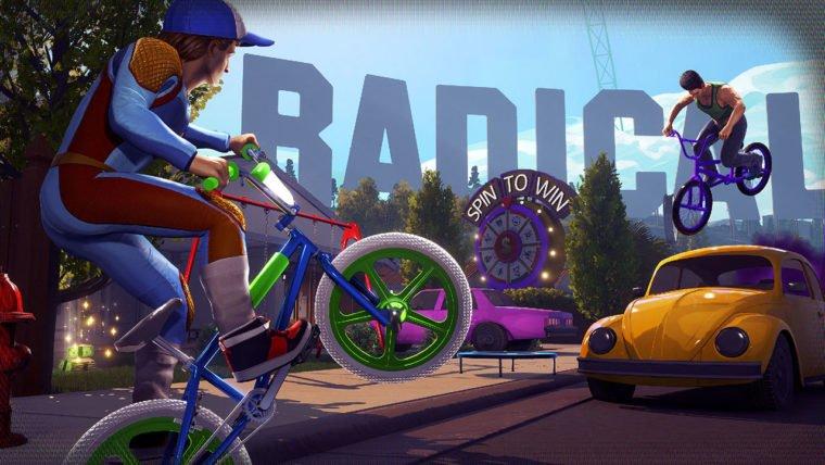 Radical Heights BMX Rider