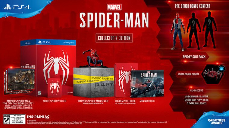 spider man collectors edition