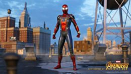 Spider-Man Iron Spider Suit