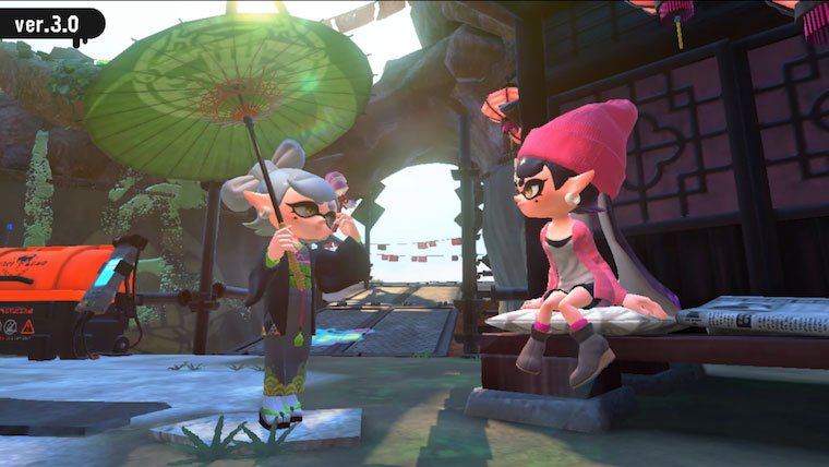 Splatoon 2 updating to 3.0.0 today
