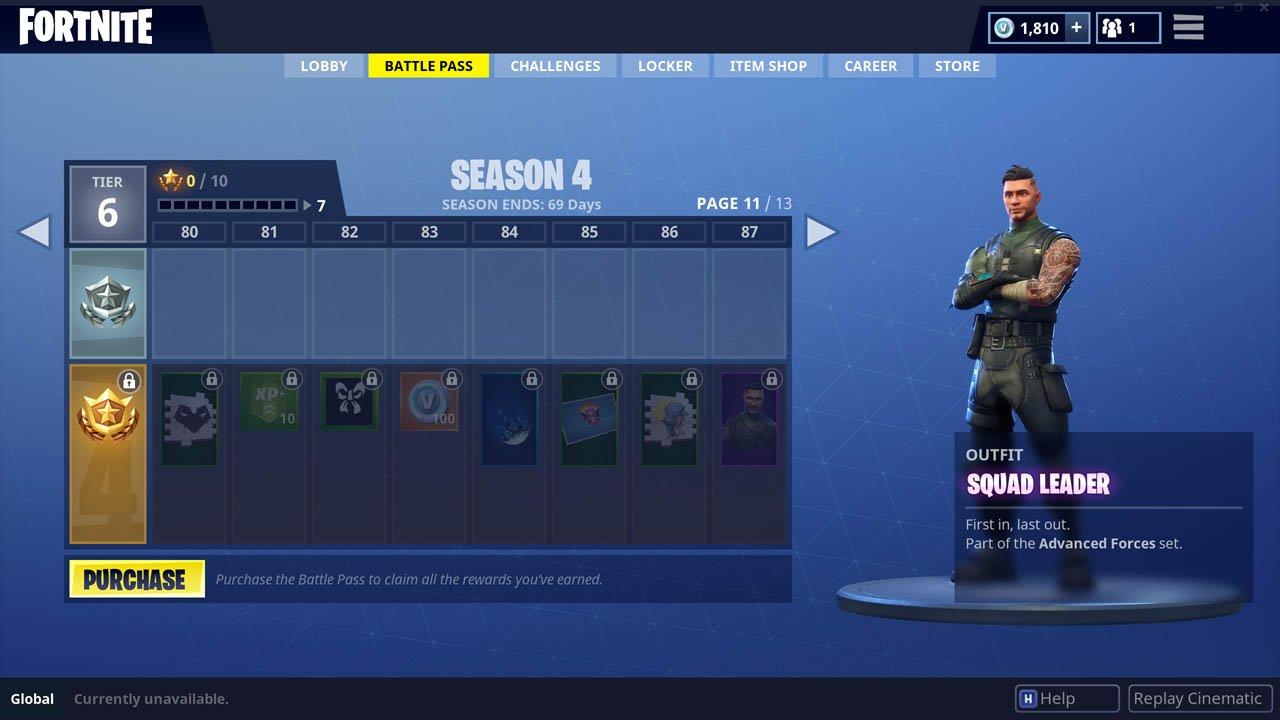 Fortnite Squad Leader Skin