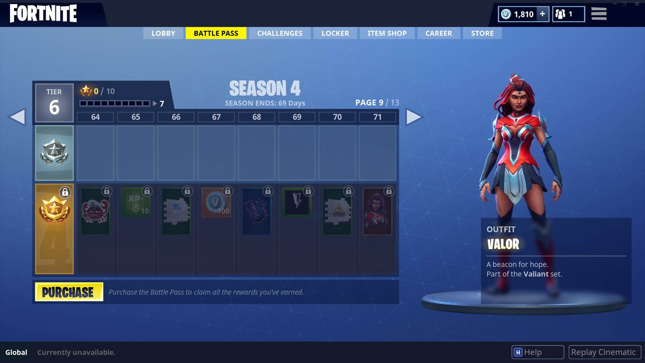 Fortnite Season 4 Battle Pass Skins Revealed Attack of