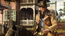 Red Dead Redemption 2 Arthur Morgan on Horse