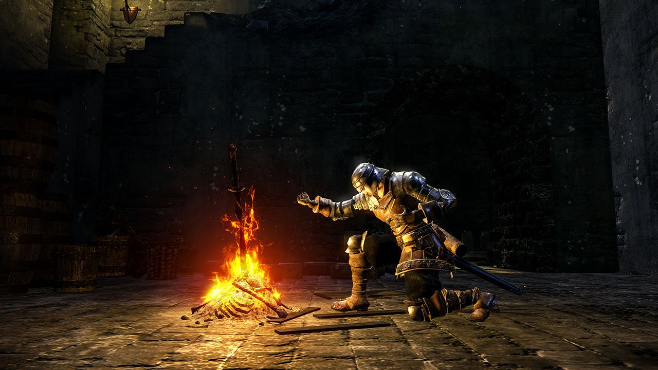 Image result for dark souls remastered bonfire