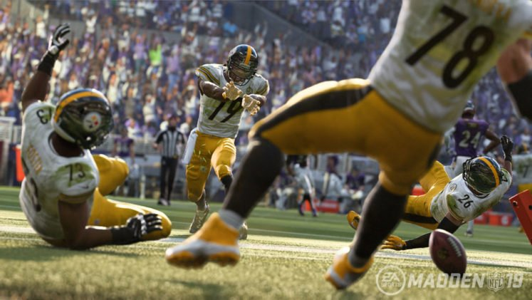 Madden NFL 19 Steelers