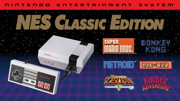 The NES Classic Returns to Store Shelves June 29