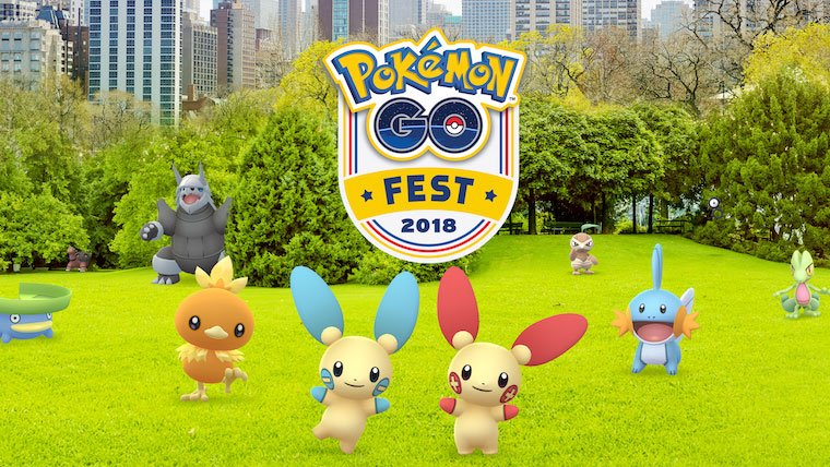 pokemon go fest 2018 details