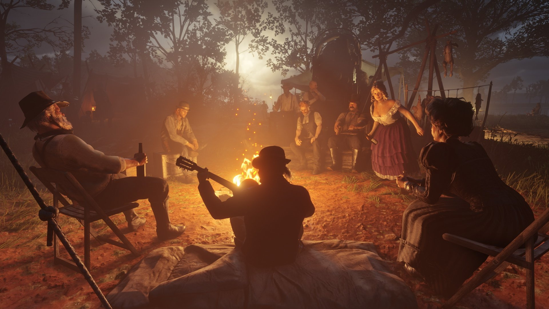 Red Dead Redemption 2 Unlock All Camp Upgrades and Max