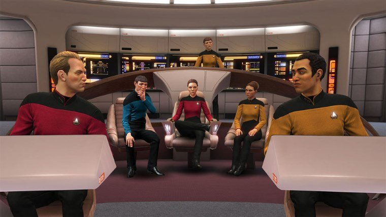 Star Trek Bridge Crew DLC The Next Generation Releases In May