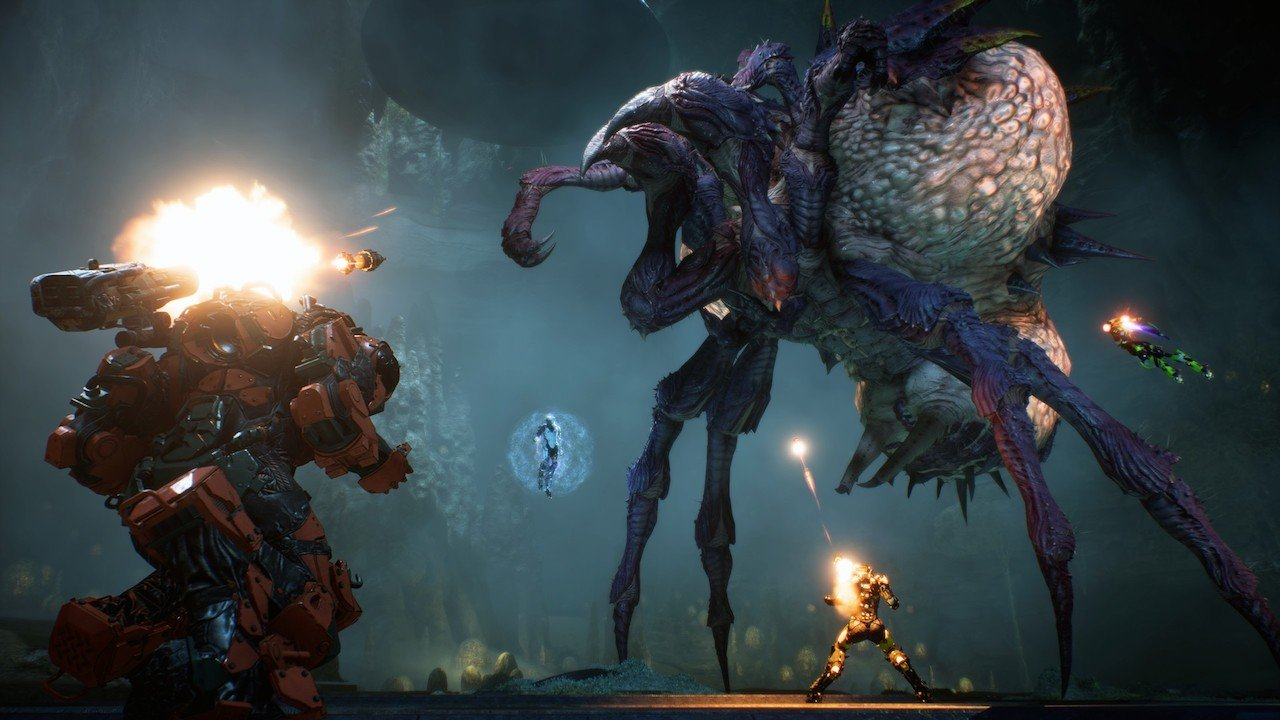 Anthem gameplay trailer reveals how quests, combat, and flying work