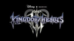 Kingdom Hearts III Logo Black