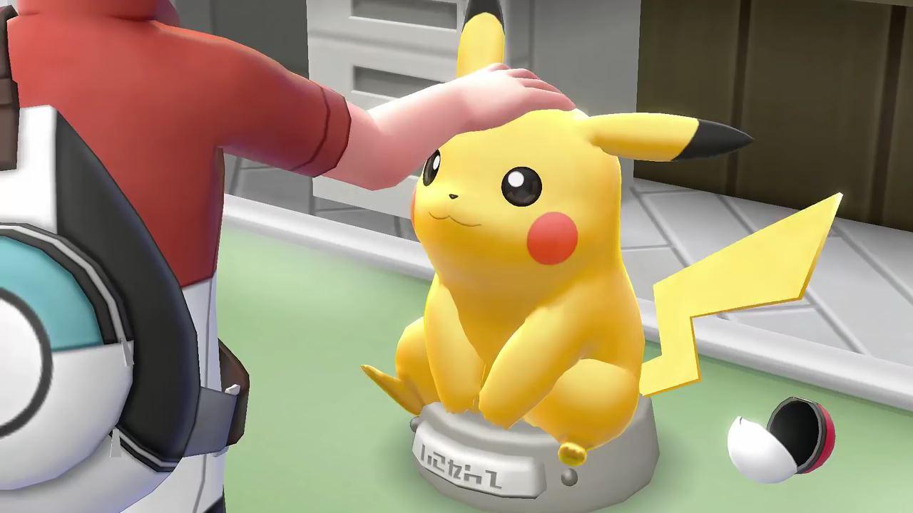 Image result for pokemon lets go pikachu