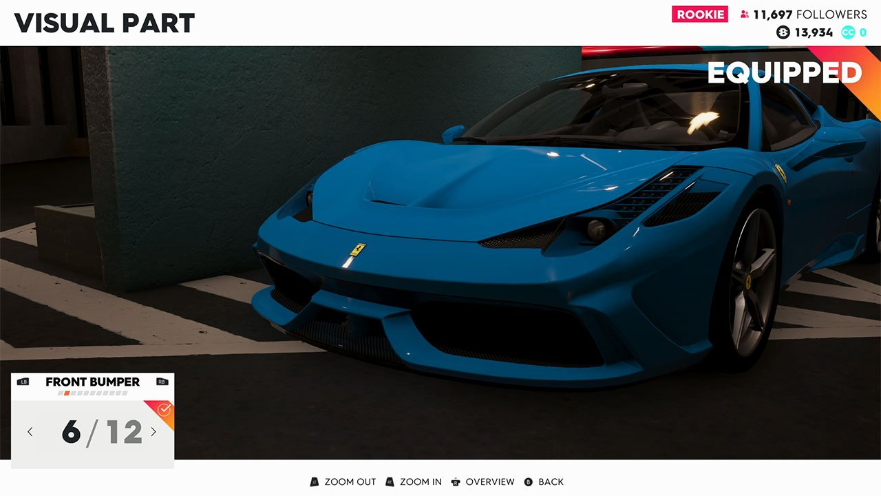The Crew 2 Customization Screenshot