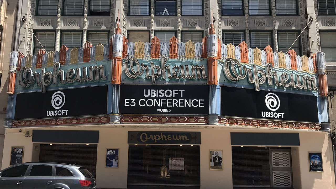 Orpheum Los Angeles Ubisoft Press Conference
