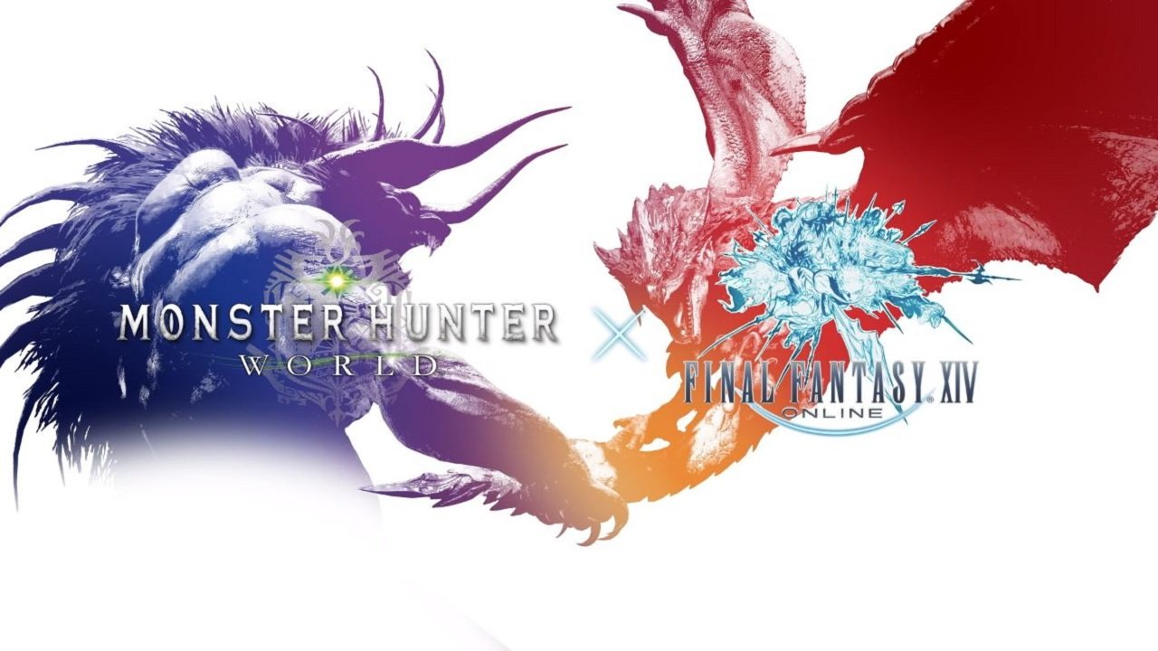 The Latest Monster Hunter: World X Final Fantasy XIV Trailer Looks