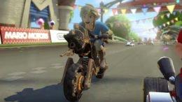 Mario Kart 8 Deluxe Link Master Cycle