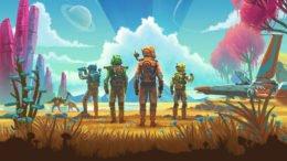 No Man's Sky Multiplayer Close up