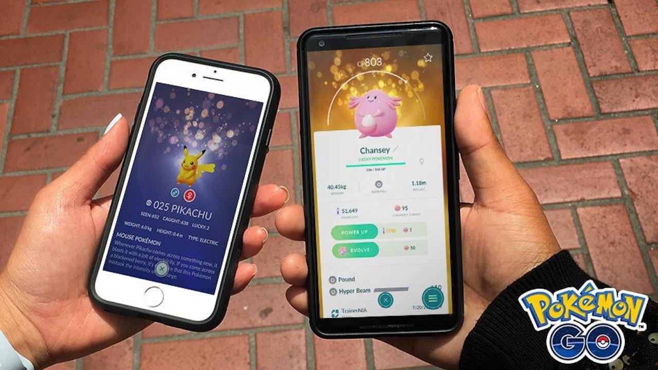 Pokémon Go Lucky Pokémon