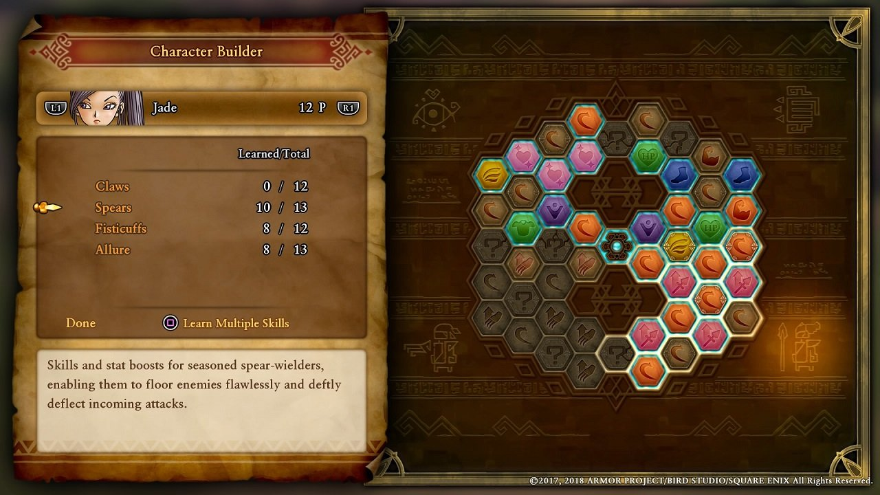 Dragon Quest 11 Guide Jade Stats Skills And Tips