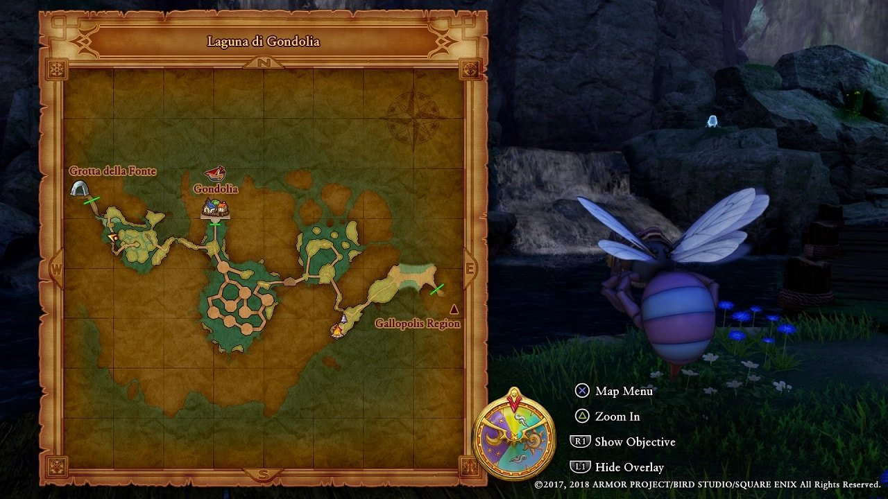 Dragon Quest XI Guide: Laguna Di Gondolia Target Locations - Attack