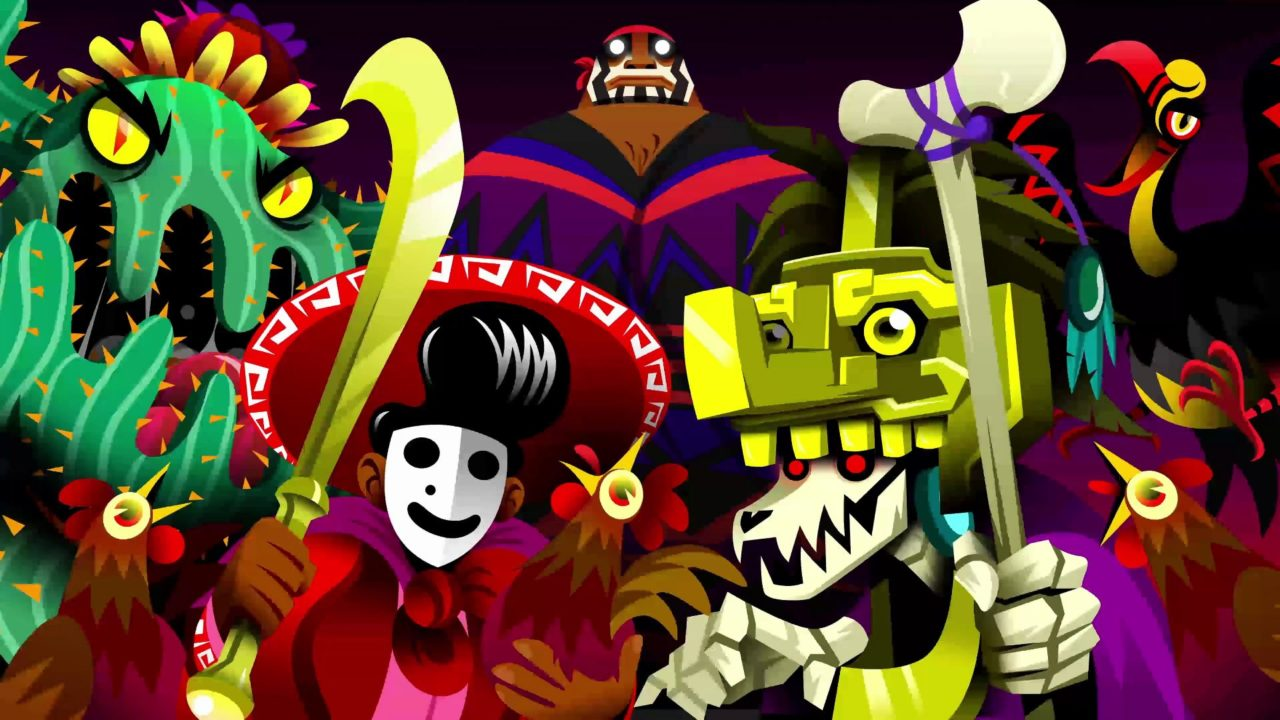 Guacamelee 2 villains
