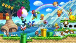 Mario Characters Jumping