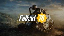 Fallout 76 Logo Black