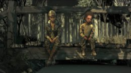 The Walking Dead The Final Season Clem and AJ