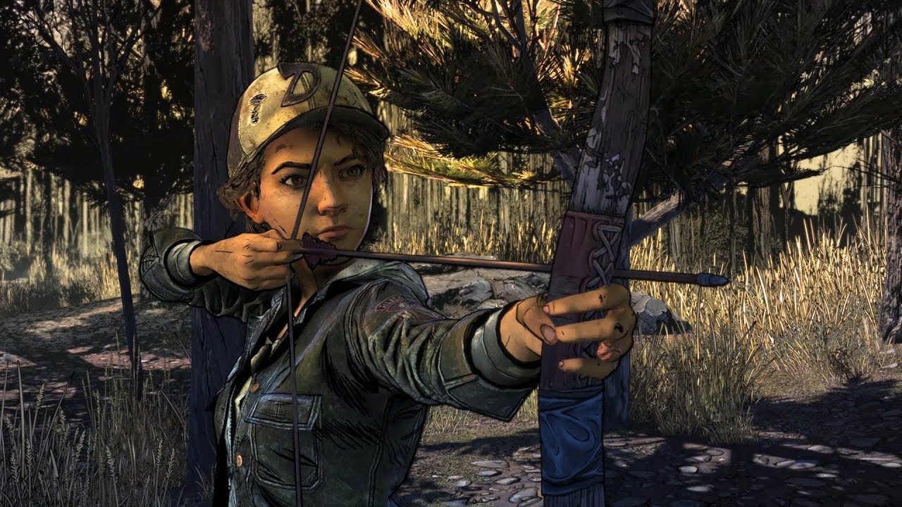 walking-dead-clem-with-bow